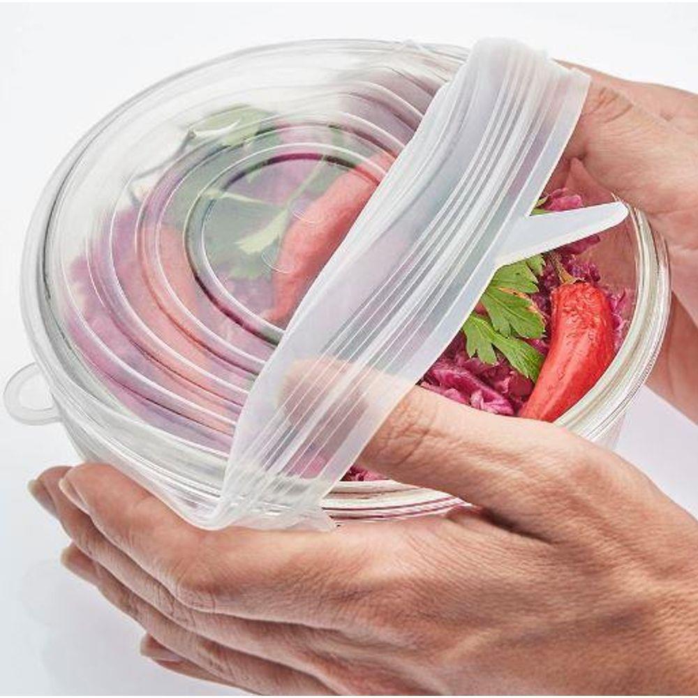 tapa de silicona reutilizable